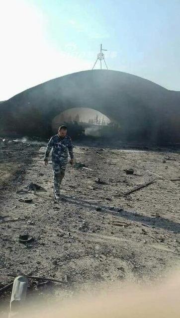 シリア空軍基地爆発_6