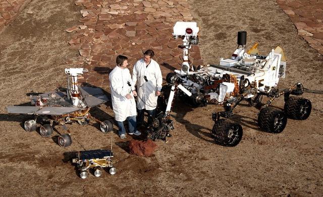 歴代火星探査車