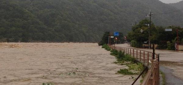 台風18号 京都