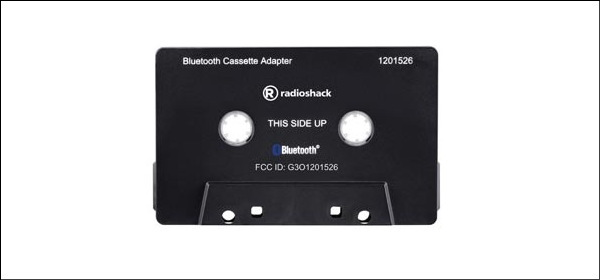 RadioShack Bluetooth Cassette Adapter