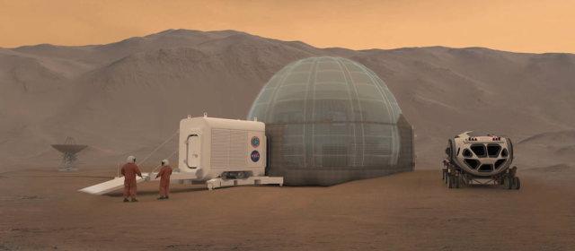 火星の住居