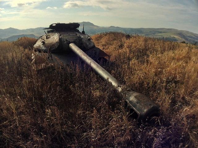 色丹島の戦車_7