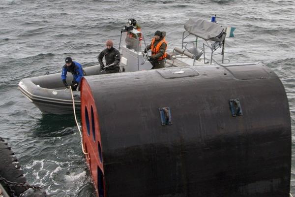 ヤーセン型原子力潜水艦の脱出ポッド_3