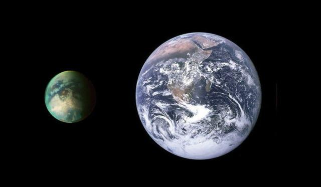 タイタンと地球