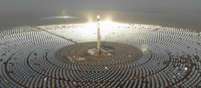 敦煌100MW溶融塩タワー型太陽熱発電所_1