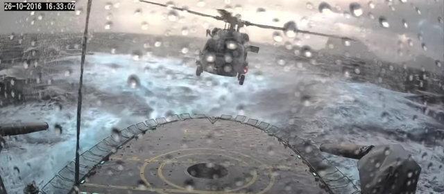 ヘリコプター着艦