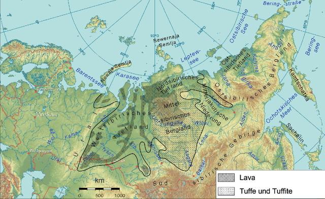 シベリア・トラップ
