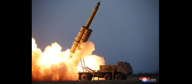 超大型ロケット砲の連射試射