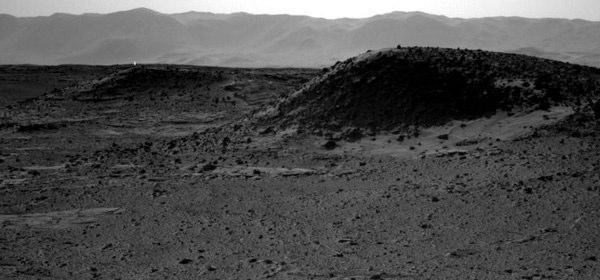 火星の発光