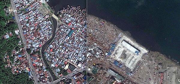 フィリピンの台風