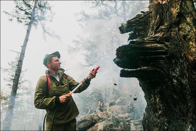 バイカル湖の火災_3