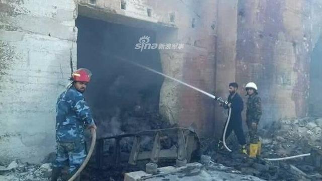 シリア空軍基地爆発_7