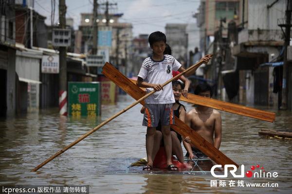 中国で発生した台風11号の被害_2