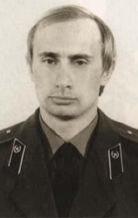 KGB時代のプーチン大統領