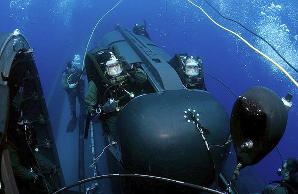 SEAL輸送潜水艇チーム