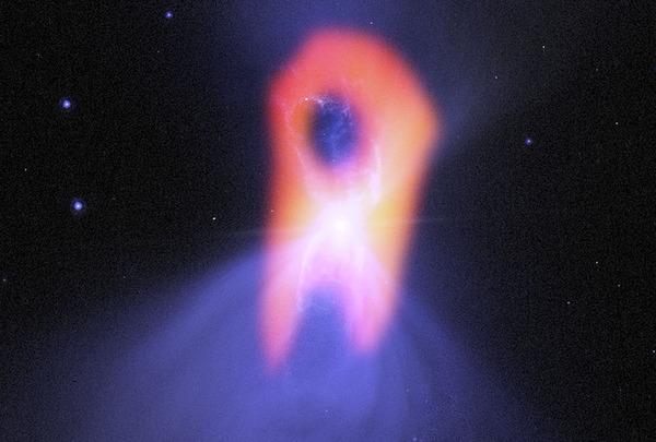 ALMAで見たブーメラン星雲