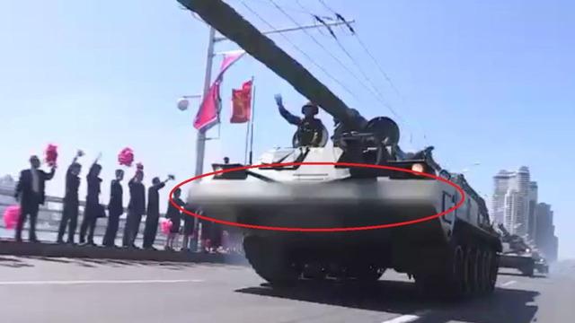 北朝鮮軍事パレード モザイク_2