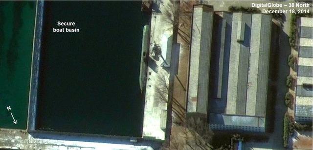北朝鮮の弾道ミサイル潜水艦_1