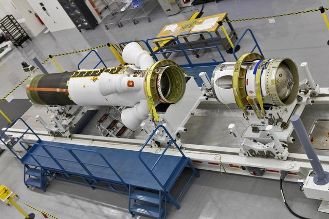 オリオン宇宙船のLAS
