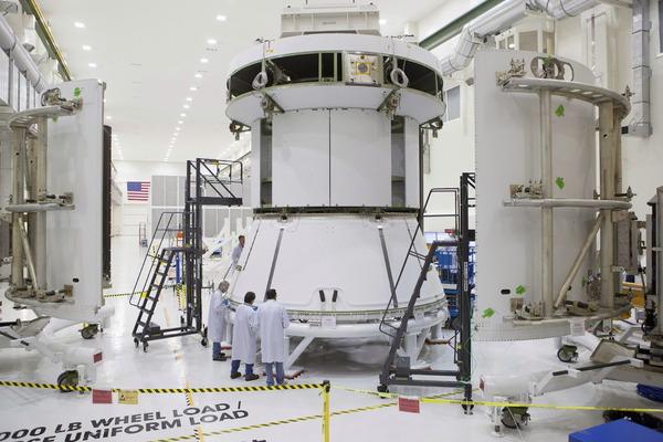 オリオン宇宙船のサービスモジュール