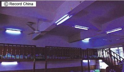 紫外線殺菌灯の事故