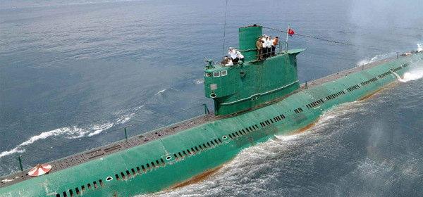 北朝鮮の潜水艦