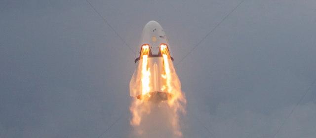 ドラゴン宇宙船のLES
