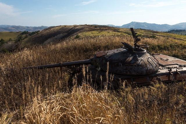 色丹島の戦車_2