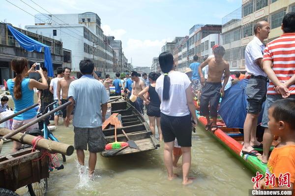 中国で発生した台風11号の被害_7