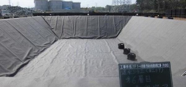 福島第一原発地下貯水槽
