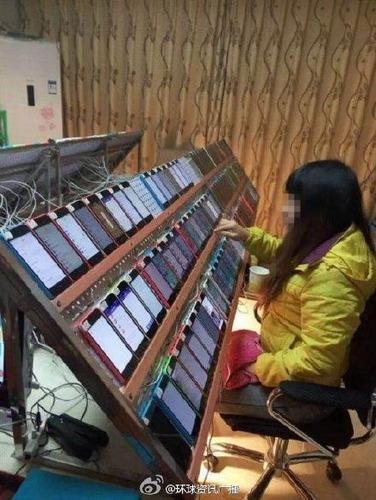 appstoreランキング不正操作
