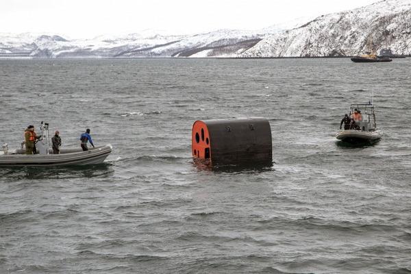ヤーセン型原子力潜水艦の脱出ポッド_2