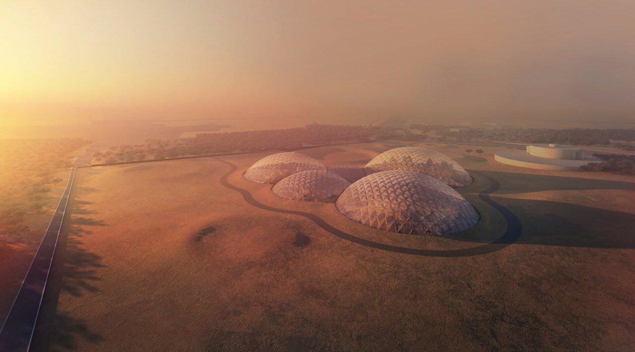 """アラブ首長国連邦が""""火星""""居住施設建設へ、シミュレート実施"""