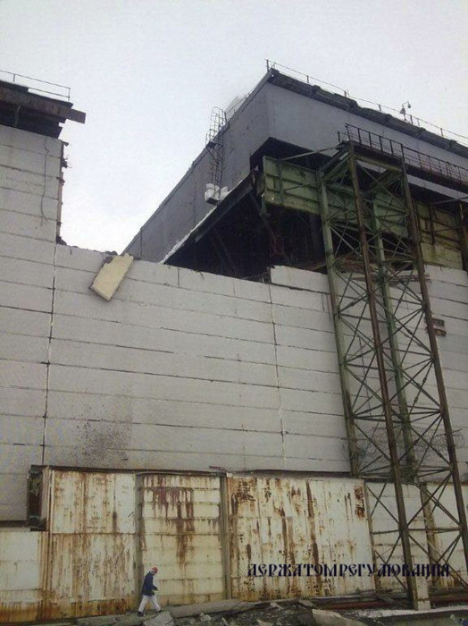チェルノブイリ原発 崩壊