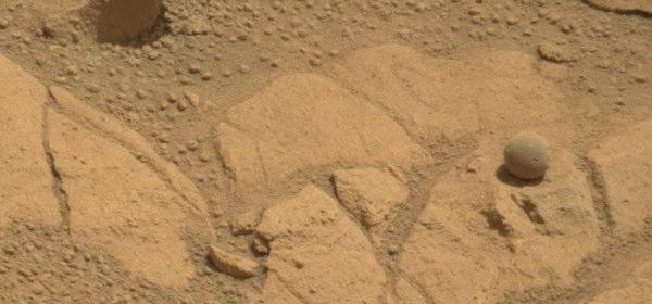 火星のコンクリーション