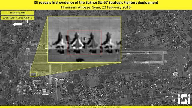 シリアに派遣されたSu-57