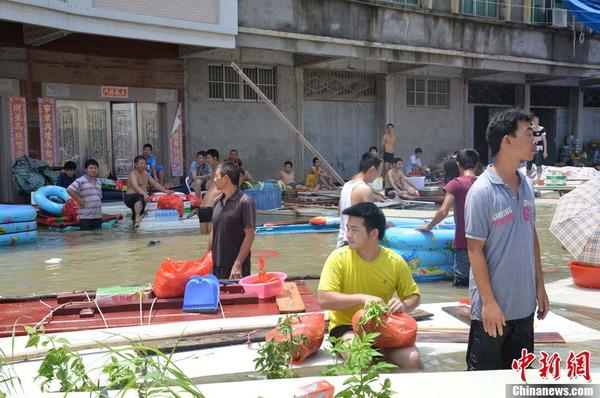 中国で発生した台風11号の被害_9