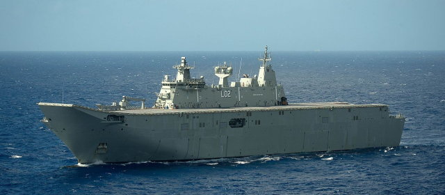 キャンベラ級強襲揚陸艦