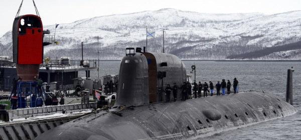 ヤーセン型原子力潜水艦の脱出ポッド