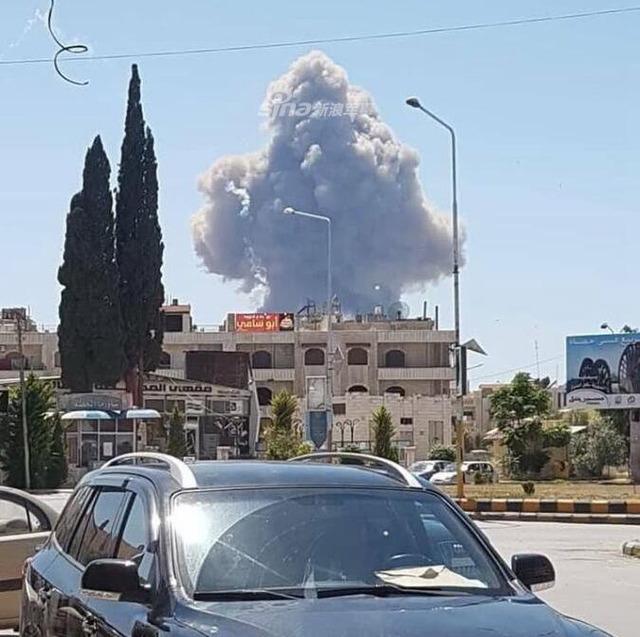 シリア空軍基地爆発_3