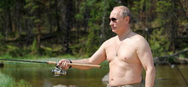 プーチン大統領の釣り_2013_1