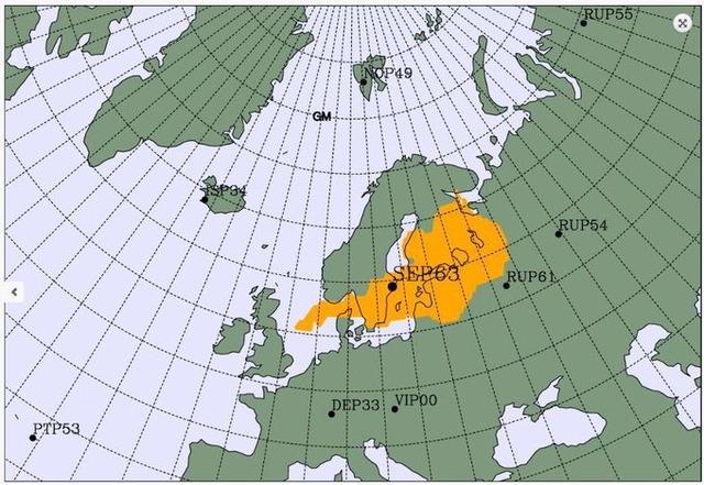 2020年6月北欧 放射性物質漏れ