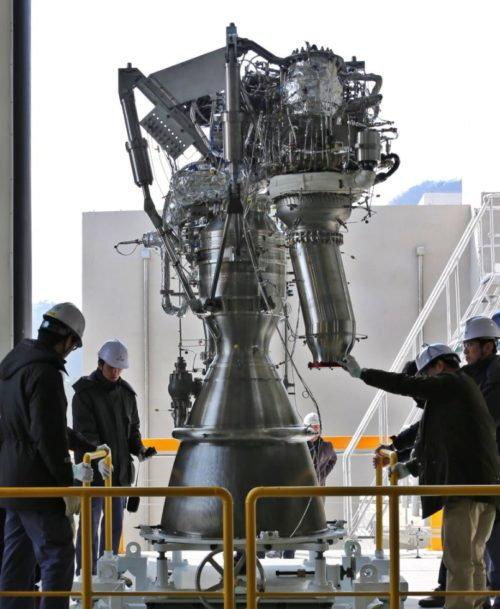 75トン級エンジン