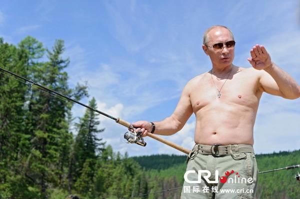 プーチン大統領の釣り_2013_3