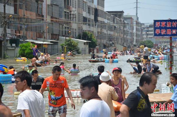 中国で発生した台風11号の被害_6