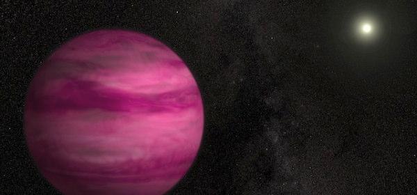 ピンク色の惑星