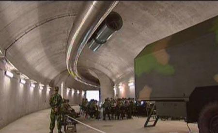 中国の地下軍事通路