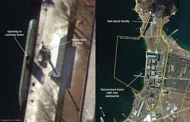北朝鮮の弾道ミサイル潜水艦_3