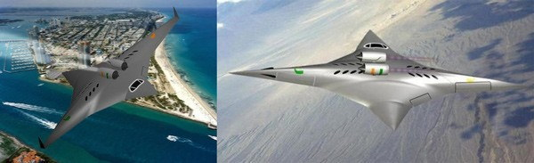 超音速二方向全翼機