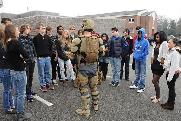 未来の米軍兵士